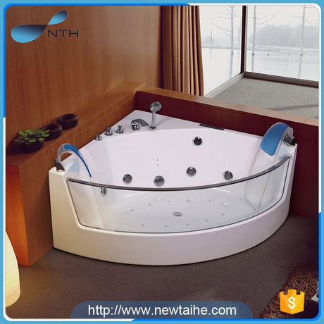 NTH made in china low price ISO massage abs whirpool square massage bathtub