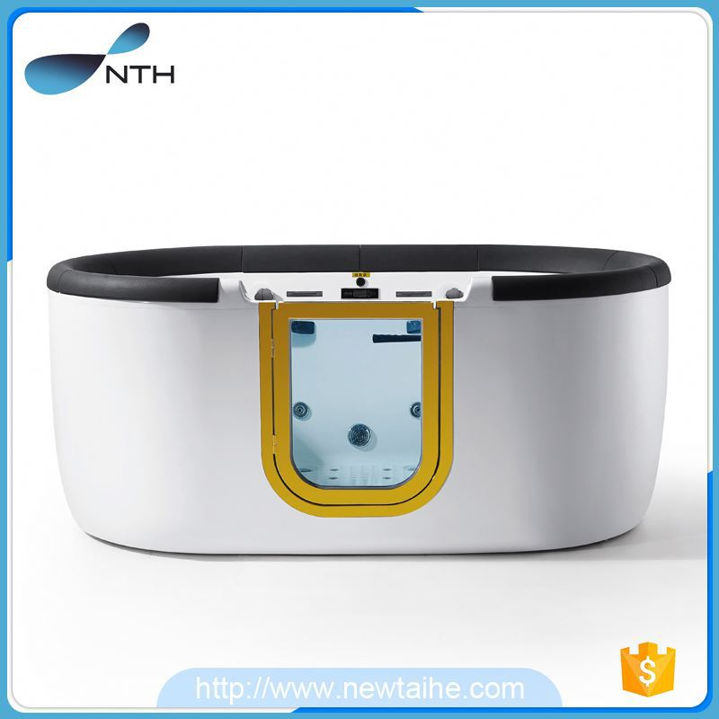 NTH china manufacturer classic home skidproof acrylic film tub with door