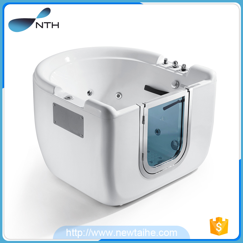 NTH online shopping washroom acrylic chinese portable walk in bathtub for disabled