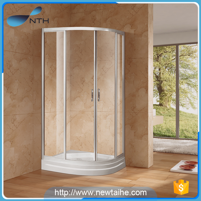 NTH toilet fibreglass caravan enclosure shower cubicles with fixed door