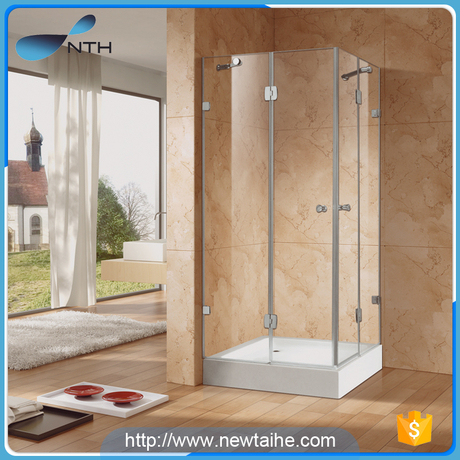 NTH Alibaba china supplier cheap corner portable glass bathroom shower cabin