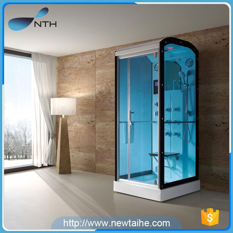 NTH 2017 new product custom ETL tempered glass body steam machine with control panel