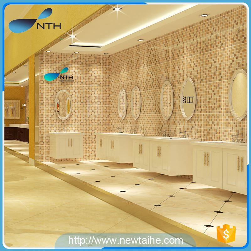 NTH china product luxury bathroom walk-in bathtub jets with led light