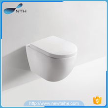 Bathroom wc wall-mounted ceramic toilet