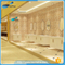 NTH china oem manufacturer custom made shower room ivory cheap walk in tub shower combo with under water light