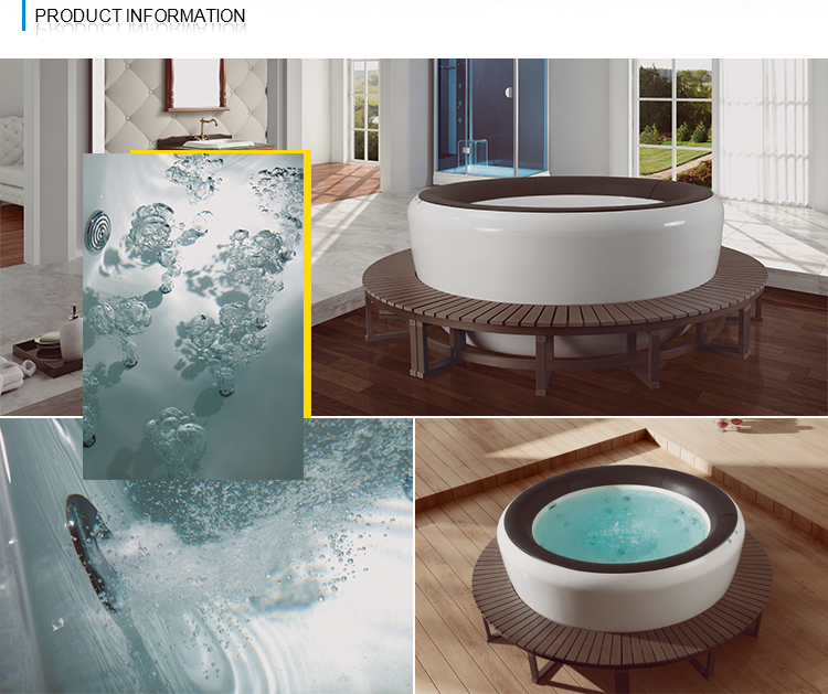 NTH china supplier production of cheap 1 adult portable hot tub
