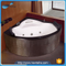 NTH online shop china cheap price villa 220V cedar wooden hot tubs with digital panel