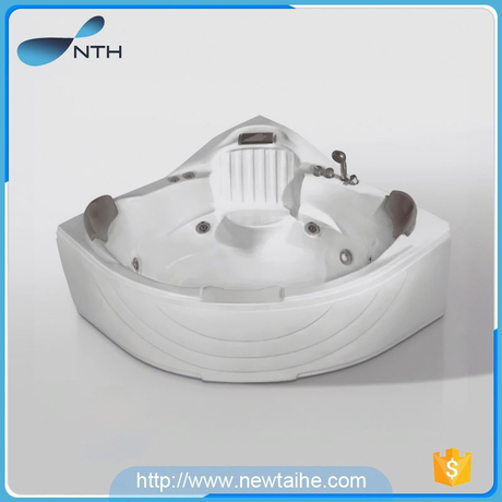 NTH 2017 hot sale fancy ISO9001 two person american style bathtubs
