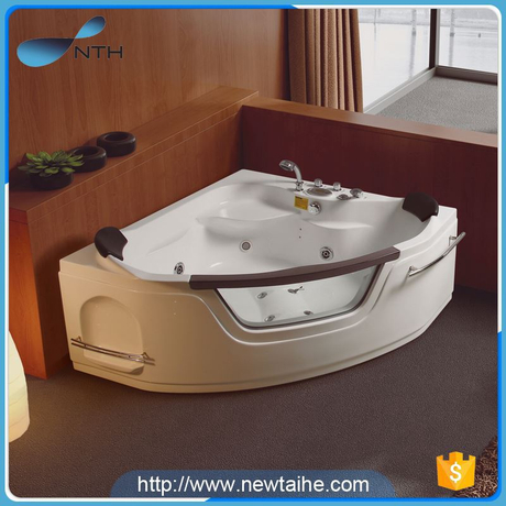 NTH made in china low price ISO lucid approved walk in bathtub with under water light