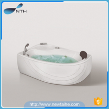 One person hot tub with massage system