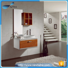 Modern wall-mounted PVC bathroom cabinet